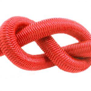 ELASTICKÉ LANO (4mm) - červená 1