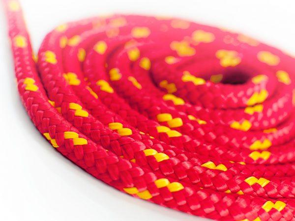 Polypropylénové lano - červené 1