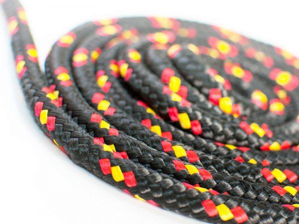 Polypropylénové lano - čierne 1