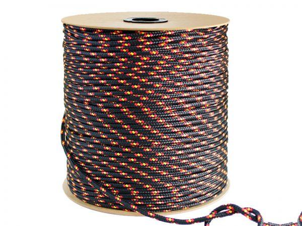 Polypropylénové lano - čierne 2