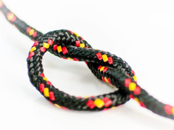 Polypropylénové lano - čierne 3