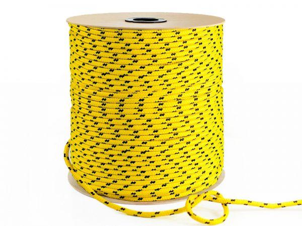 Polypropylénové lano - žlté 3