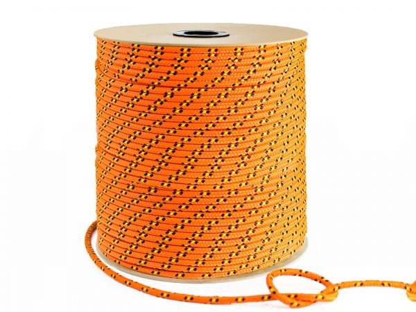 Polypropylénové lano - oranžové 3