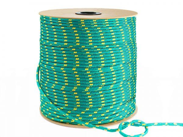 Polypropylénové lano - zelené 2