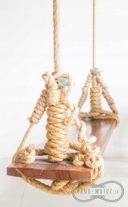 Sisalové lano - dekorace do domu