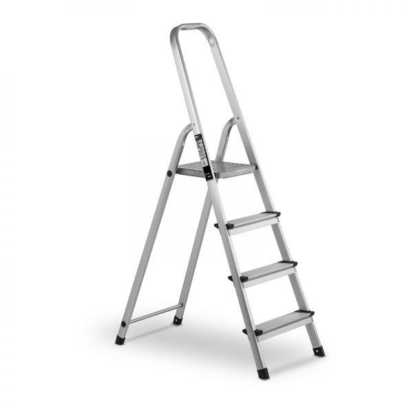 Profesionálny hliníkový rebrík - jednostranný - 4 stupne | model: MSW-AT4
