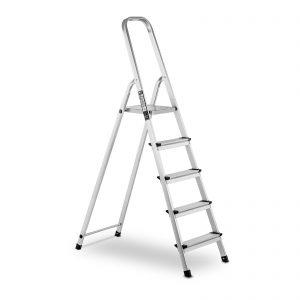 Profesionálny hliníkový rebrík - jednostranný - 5 stupňov | model: MSW-AT5