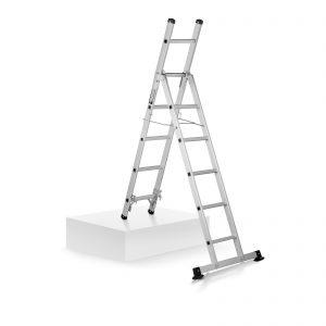 Profesionálny hliníkový rebrík multifunkčný - výška 2,5 m | model: MSW-AVL11