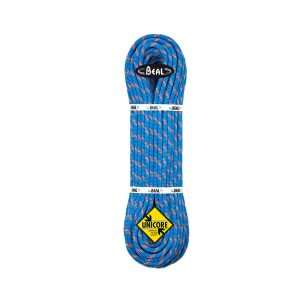 Lano Beal Booster 9, 7 mm x 80 m Dry Cover Blue