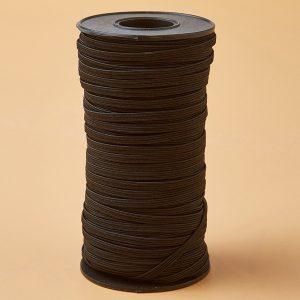 Elestická gumička čierna 7mm