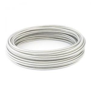 Oceľové laná s PVC