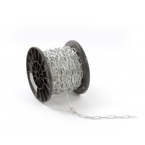 Oceľová reťaz (5 mm) dlhé články D2 | DIN 763