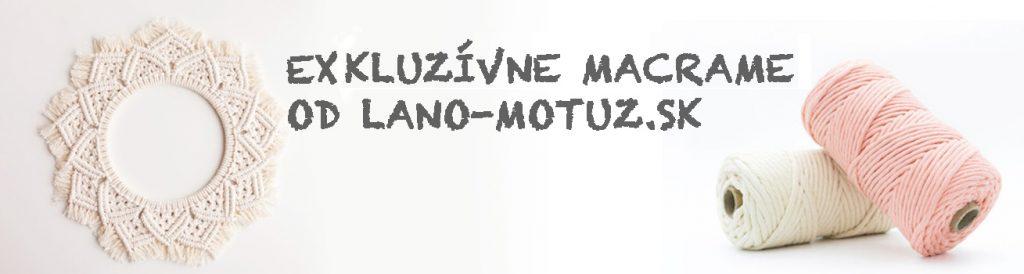 Macrame banner
